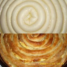 za pocetnike: sirnica Albanian Recipes, Bosnian Recipes, Bulgarian Recipes, Croatian Recipes, Bosnian Food, Serbian Food, Pastry Recipes, Cooking Recipes, My Favorite Food