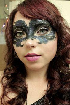 masquerade makeup | Masquerade makeup