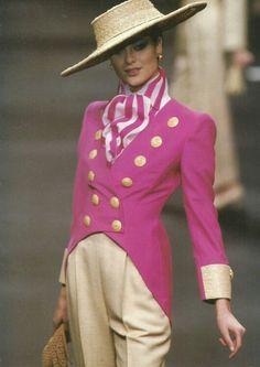 Spring 1994 - Gianfranco Ferre for Christian Dior Haute Couture show