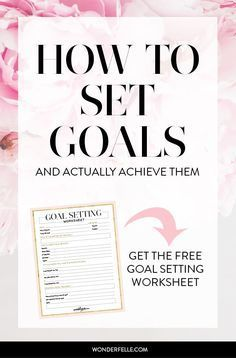 Success Motivation Work Quotes : Goal Setting for how to set goals and actually achieve them. 6 tips on set Business Goals, Business Tips, Cleaning Business, Business Opportunities, Marketing, Goal Setting Worksheet, Coaching, Achieving Goals, Reaching Goals