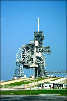 The LC-39 launch pad at NASA's Kennedy Space Center!