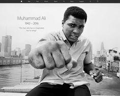 米Apple、公式サイトトップページでモハメド・アリ氏を追悼