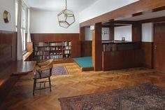 Adolf Loos' Richard Hirsch apartment in Prague