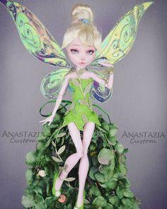 Porcelain Tiles In China Custom Monster High Dolls, Monster Dolls, Monster High Repaint, Custom Dolls, Fairy Makeup, Makeup Art, Chibi, Doll Painting, Disney Dolls