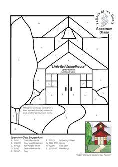 Little red schoolhouse pattern