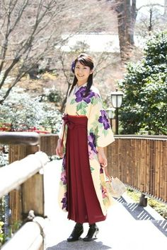#着物 袴 Kimono Hakama