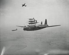 World War II Wellington bombers (2 of 2) by whatsthatpicture, via Flickr
