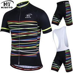 2a74a5ec4 KIDITOKT Breathable Pro Cycling Clothing Cycling Sets Mountain Bicycle  Clothes Cycling Jersey Set MTB Bike Sportwears
