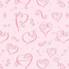 Valentine's Day Scrapbook Paper  ***Free Printables*** Mini Albums, Love Heart Illustration, Valentine Heart, Valentines, Scrapbook Patterns, Valentine Background, Decoupage, Home And Deco, How To Make Notes