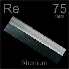 75   Re - Rhenium