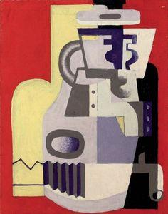Still Life with Accordion ⎮ Le Corbusier
