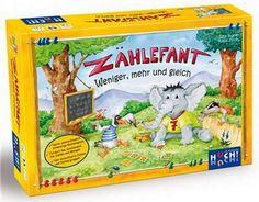 Zählefant Weniger, mehr und gleich Huch! & Friends Zahlenspiel 1 bis 10