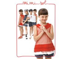 From the Sand Line of the MiMiSol SS 2013 collection: geometrical and lively colourful little dresses à-la-Sonia Delaunay.  #mimisol #pe13 #ss13 #children #fashion #kidswear #childrenswear #kids #littledress #littlegirl #littlegirls #colours #colourful #sonia #delaunay