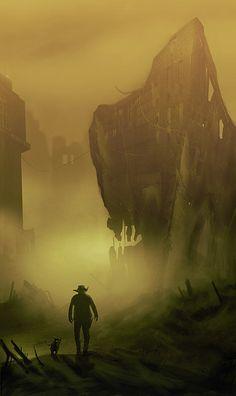 La Tour Sombre, Roland et Ote dans la Cité de Lud