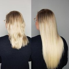 Vorher Nachher Haarverlängerung Galerie | ECHTHAIR Keratin, Tape In Extensions, Hair Beauty, Long Hair Styles, Videos, Real Human Hair Extensions, Natural Hair Journey, My Hair, Short Hair Up