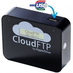 this device uses a USB to store data.