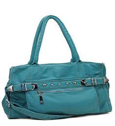 Blue Retro Designer Inspired Purse - Handbags, Bling & More!