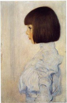 Portrait of Helene Klimt - Gustav Klimt