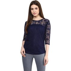 e7f64eb8791a Sale  398 INR Mayra Women s Net Top Buy Shirts