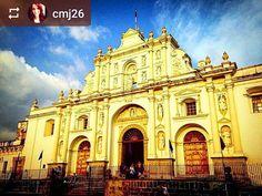 From @cmj26: Saint Joseph's Cathedral at #sunset #Antigua #Guatemala #ILoveAntigua #AmoAntigua #Travel http://OkAntigua.com