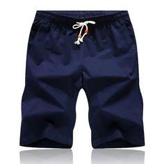 Hot 2018 Newest Summer Casual Shorts Men's Cotton Fashion Style Man Shorts Bermuda Beach Shorts Plus Size Short Men Male Color Shorts, Sport Shorts, Men Shorts, Baggy Shorts, Swim Shorts, Shorts Casual, Bermuda Beaches, Streetwear, Men's Fashion Brands