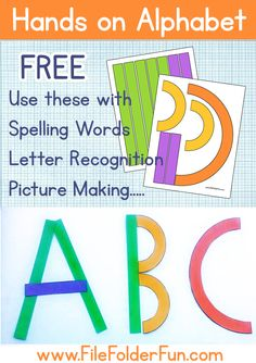 Hands on Alphabet Printables