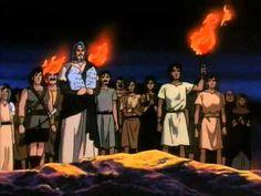 HISTORIA DE LA BIBLIA 16- EL BECERRO DE ORO - YouTube