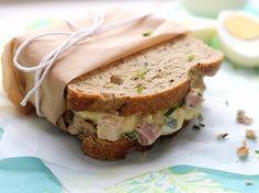 So uncool, but I egg salad sandwiches! The Best Egg Salad Ever Soup And Sandwich, Salad Sandwich, Brunch Dishes, Tasty, Yummy Food, Wrap Sandwiches, Steak Sandwiches, Egg Salad, How To Make Salad