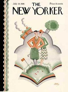 New Yorker cover art is almost always wonderful.  This golf illustration is no exception.
