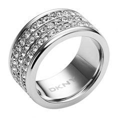 DKNY ring Glitz Rondels - NJ1877