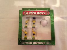 hasbro subbuteo accessories refs