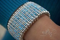 DIY bracelet......you won't believe what it's made from!