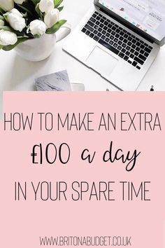 What would you do with a bit of extra cash if you had it? Would you pay off debt, save it or would you treat yourself? If you have a bit of spare time on your hands, here are some ways you can pocket an extra £100 a day for next to no hassle. Ways To Save Money, Money Saving Tips, How To Make Money, Money Tips, Frugal Family, Family Budget, Sell Gift Cards, How To Find Out, How To Become