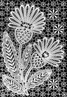 Bobbin lace from the city of Yelets, Russia Harmony Design, Bruges Lace, Bobbin Lacemaking, Bobbin Lace Patterns, Iron Work, Needle Lace, Crochet Doilies, Blackwork, Damask