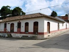 Casa colonial en Cubiro. Estado Lara. Venezuela