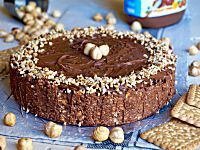 Torta alla Nutella 3 Ingredienti Senza Cottura