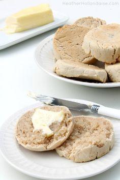 AIP Friendly Cassava English Muffins