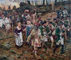 American Revolution Don Troiani Massacre Mohawk Valley Rogers Rangers Iroquois American Revolutionary War, Native American History, American Civil War, Native American Indians, Native Americans, African Americans, Woodland Indians, Seven Years' War, Military Art