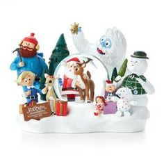 Hallmark Rudolph the Red-Nosed Reindeer® Collectible Snow Globe, $79.95