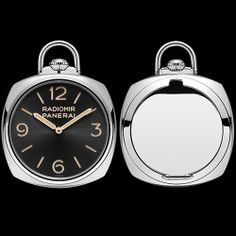 The absolute purity of Panerai's design achieves an unprecedented and exclusive expression in the new gold pocket watches, two extremely elegant Special Editions of only 50 units each OFFICINE PANERAI Pocket Watch 3 Days Oro Rosso & Oro Bianco - 50mm (See more at En/Fr/Es: http://watchmobile7.com/articles/officine-panerai-pocket-watch-3-days-oro-rosso-oro-bianco-50mm) (4/7) #watches #officinepanerai #paneraiwatches @Officine Panerai