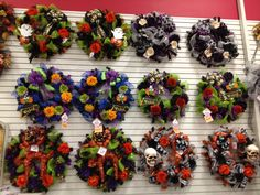 Talented Michael's Designers - Halloween Halloween Wreaths 2012  by Christian Rebollo
