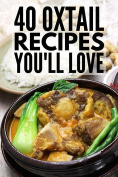 Soul Food: 40 Protein-Rich Oxtail Recipes You'll Love 40 Protein-Rich Oxtail Recipes You'll Love Oxtail Recipes Crockpot, Slow Cooker Recipes, Crockpot Recipes, Soup Recipes, Cooking Recipes, Soul Food Recipes, Southern Oxtail Recipe, Southern Recipes, Hawaiian Oxtail Soup Recipe
