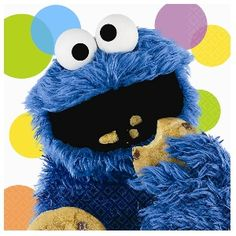 If you've got a little monster in your life who loves cookies, why not throw him a Cookie Monster birthday party? Cookie, as he's affectionately called by his friends, is the lovable monster from Sesame Street. Kids of all ages have adored Cookie. Sesame Street Party Supplies, Kids Party Supplies, Monster Decorations, Monster Birthday Parties, Birthday Ideas, 2nd Birthday, Happy Birthday, Cookie Monster Party, Sesame Street Birthday