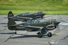 P-40's