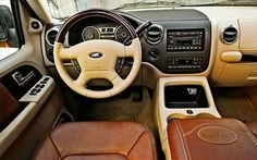 2014 Ford Expedition King Ranch Interior