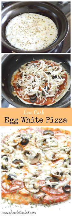 Stay on track and satisfy your pizza craving! High protein low carb option on chocolatesalad.com: