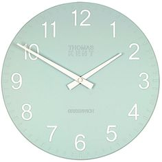 Buy Cotswold Wall Clock, Blue online at JohnLewis.com - John Lewis