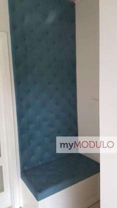 Miękkie panele tapicerowane - zagłówki tapicerowane | myMODULO 3d Wall, Mattress, Bed, Furniture, Home Decor, Decoration Home, Stream Bed, Room Decor, Mattresses