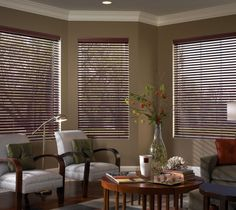 Steve's Exclusive Collection Faux Wood Blinds. #blinds #window #windowtreatments #windowdisplay #windowtreatmenthardware #FauxWoodBlinds #woodblinds