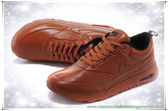 promo code b8aee 075dc meilleures chaussures running Orange Rouge Orange Nike Air Max Thea Print  New Leather Hommes
